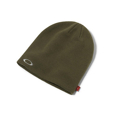 Oakley Fine Knit Beanie Hat, Black, viewer