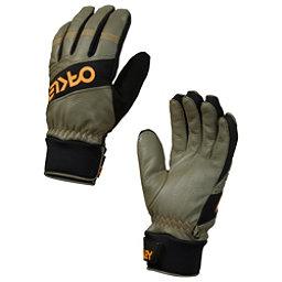 Oakley Factory Winter Gloves, Worn Olive, 256