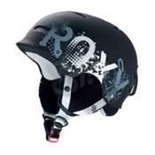 Roxy Gravity Zone Audio Womens Helmet, Black, medium