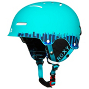Roxy Gravity Zone Audio Womens Helmet, Turquoise, medium