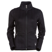 Spyder Core Major Cable Womens Sweater, Black, medium