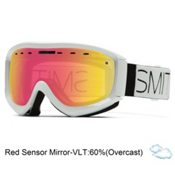 Smith Prophecy OTG Goggles, White Block-Red Sensor, medium