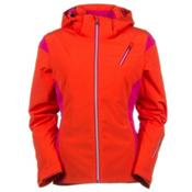 Spyder Prevail Womens Insulated Ski Jacket, Sizzle-Girlfriend-Silver, medium