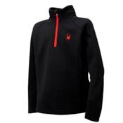 Spyder Core Outbound Half Zip Kids Sweater, Black, medium