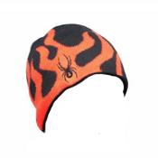 Spyder Fire Kids Hat (Previous Season), Black-Volcano, medium