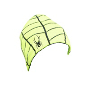 Spyder Web Kids Hat, Mantis Green-Black, medium