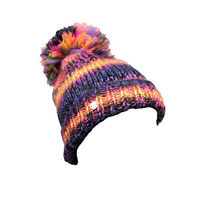 Spyder Twisty Kids Hat (Previous Season), Pure-Bryte Bubblegum-Sharp Lim, viewer