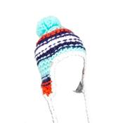Spyder Bittersweet Kids Hat, Chill-Regal-Sizzle, medium