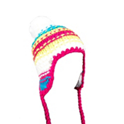 Spyder Bittersweet Kids Hat, White-Girlfriend-Riviera, medium