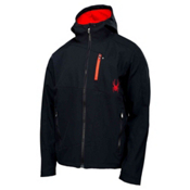 Spyder Patsch GT Soft Shell Jacket, Black-Volcano, medium