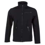 Spyder Fresh Air Soft Shell Jacket, Black-Slate, medium