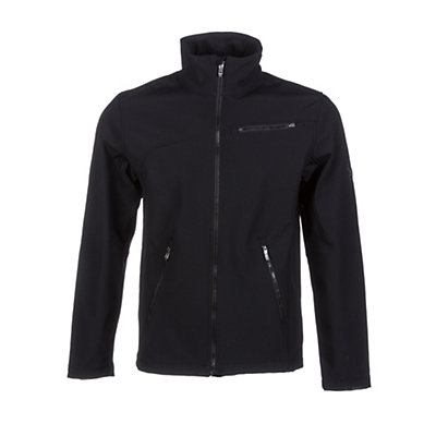 Spyder Fresh Air Soft Shell Jacket (Previous Season), Black-Slate, viewer