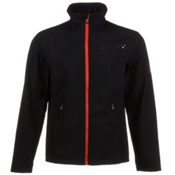 Spyder Fresh Air Soft Shell Jacket, Black-Volcano, medium