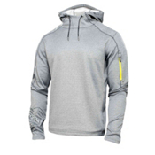 Spyder Boosted Hoody Hoodie, Graystone Melange-Slate-Acid, medium