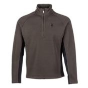 Spyder Core Pitch Half Zip Heavyweight Mens Sweater, Osetra, medium