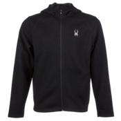 Spyder Core Upward Full Zip Midweight Mens Sweater, Black-Graystone, medium