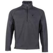 Spyder Core Outbound Half Zip Midweight Mens Sweater, Slate-Black-Slate, medium