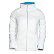 Gerbing Heated Puffer Womens Jacket, White, medium