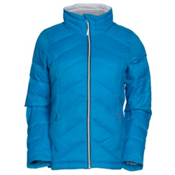 Gerbing Heated Puffer Womens Jacket, Blue, medium