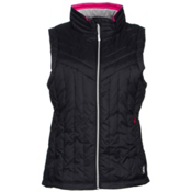 Gerbing Heated Puffer Womens Vest, Black, medium