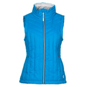 Gerbing Heated Puffer Womens Vest, Blue, medium