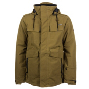 686 Parklan Field Mens Insulated Snowboard Jacket, Army Ripstop, medium