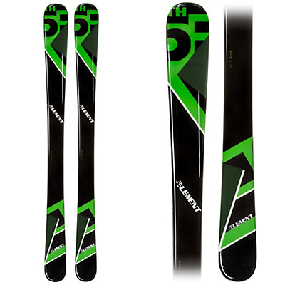 5th Element Green Machine Kids Skis, Green-Black, viewer