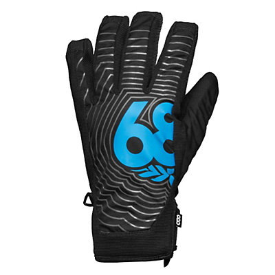 686 Authentic Icon Pipe Gloves, Black, viewer