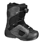 Flow Lotus Coiler Womens Snowboard Boots, Black-Black, medium