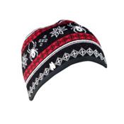 Spyder Courmayeur Hat, Black-Volcano-White, medium