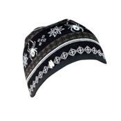 Spyder Courmayeur Hat, Black-Osetra-White, medium