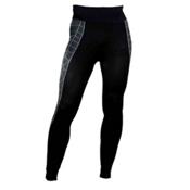 Spyder Skeleton Baselayer Mens Long Underwear Pants, Black-White, medium