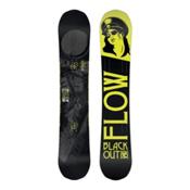 Flow Black Out Snowboard, 159cm, medium