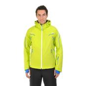 Volkl Black Jack Mens Insulated Ski Jacket, Lime, medium