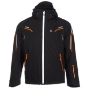 Volkl Black Jack Mens Insulated Ski Jacket, Black, medium