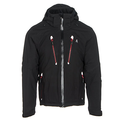 Volkl Perfect Fitting Mens Insulated Ski Jacket, Black, viewer