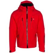 Volkl Perfect Fitting Mens Insulated Ski Jacket, Red, medium