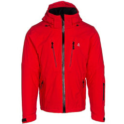 Volkl Perfect Fitting Mens Insulated Ski Jacket, Red, 256