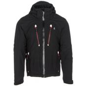 Volkl Perfect Fitting Big and Tall Mens Insulated Ski Jacket, Black, medium