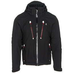 Volkl Perfect Fitting Big and Tall Mens Insulated Ski Jacket, Black, 256