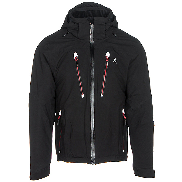 Volkl Perfect Fitting Big and Tall Mens Insulated Ski Jacket, Black, 600