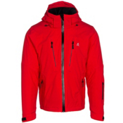 Volkl Perfect Fitting Big and Tall Mens Insulated Ski Jacket, Red, medium
