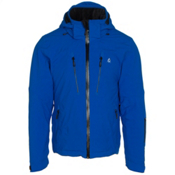 Volkl Perfect Fitting Big and Tall Mens Insulated Ski Jacket, Royal, medium