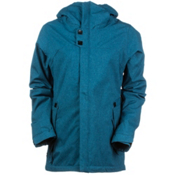 686 Authentic Smarty Path Womens Insulated Snowboard Jacket, Lagoon Texture, medium