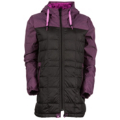 686 Airflight Down Parka Womens Insulated Snowboard Jacket, Coffee, medium