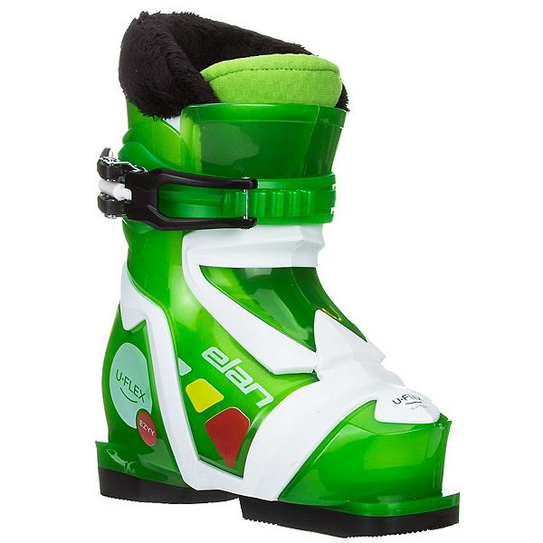 Elan Ezyy 1 Kids Ski Boots 2017, Green, 600