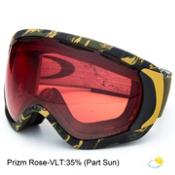 Oakley Canopy Danny Kass Prizm Goggles, Tiger Camo Olive-Prizm Rose, medium