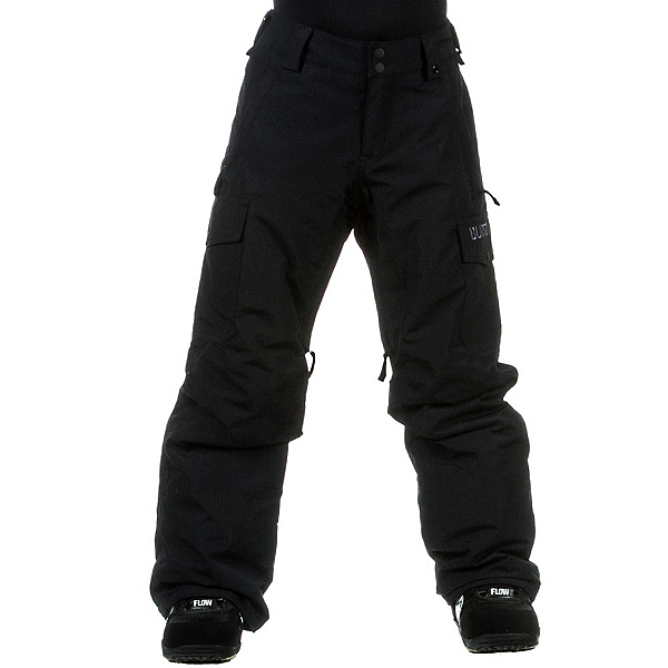 Burton Exile Cargo Kids Snowboard Pants, True Black, 600