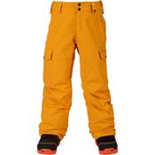 Burton Exile Cargo Kids Snowboard Pants, Yolky, medium