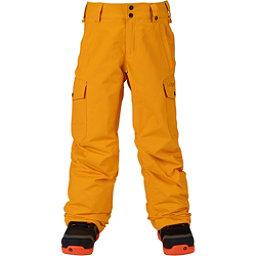 Burton Exile Cargo Kids Snowboard Pants, Yolky, 256